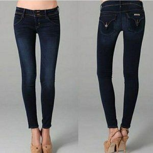 Hudson Collin Flap Skinny Ankle Jeans 26